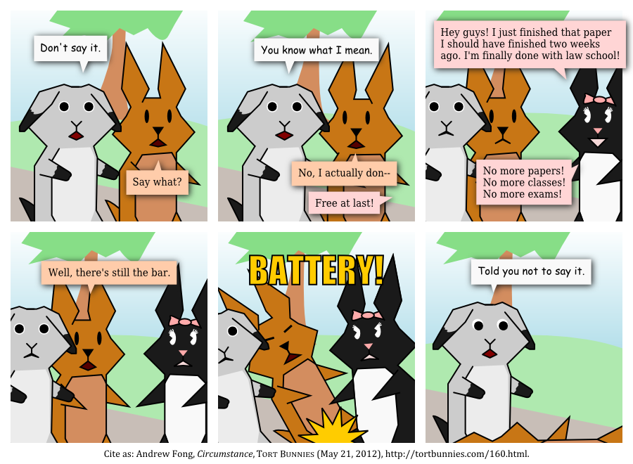 Tort Bunnies comic strip