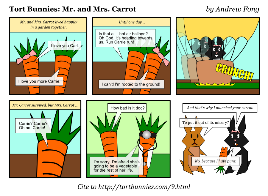 mr and mrs carrot november 23 2009 tort bunnies
